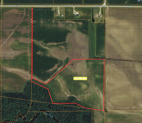 34 Acres for Sale in Butler County | Hunting Land