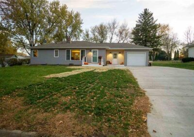 3119 Cadillac Dr. Cedar Falls   2 Bedroom Home For Sale   Huff Land Co.